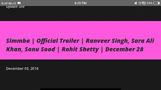 Simmba   Official Trailer   Ranveer Singh, Sara Ali Khan, Sonu Sood   Rohit Shetty   December 28