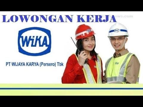 Lowongan Kerja BUMN PT Wijaya Karya