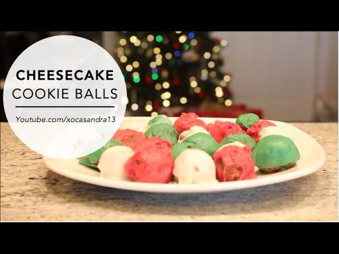 CHEESECAKE COOKIE BALLS | Christmas Cookie Recipe