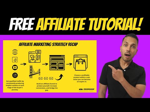 Affiliate Marketing Tutorial for Beginners 2021 Step-by-Step 7-Video ...