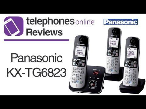 Panasonic KX-TG6823 Digital Cordless Telephone Review By Telephones Online