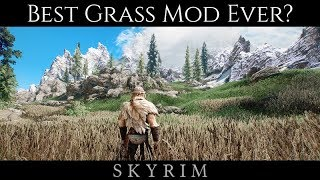 IS THIS THE BEST GRASS MOD FOR SKYRIM? | Skyrim SE Ultra ENB Graphics