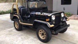 Turbo Diesel Jeep by Mitsubishi J53 4DR5/6
