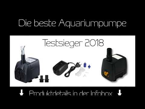 Beste Aquariumpumpe - Testsieger 2018