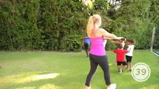 Exercises for Kids & Parents to Workout Together by Live Sonima