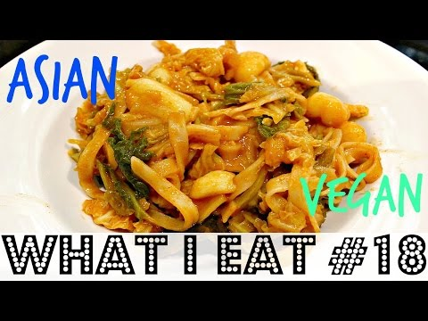 WHAT I EAT IN A DAY #18 (Easy Asian Vegan Recipes) ♥ Cheap Lazy Vegan