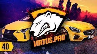 В гостях у VirtusPro. Обклеил свой AMG GT. Маркетинг в Lexus