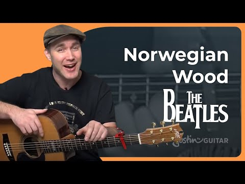 Norwegian Wood - The Beatles - Acoustic Guitar Lesson (SB-116) How to play
