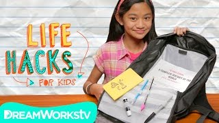 3 Hacks To Get You ORGANIZED | LIFE HACKS FOR KIDS