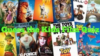 Guess The Kids Film Quiz