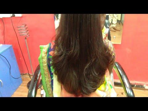 long hairs deep u haircut in step by step (2018)