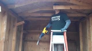 How to Remove A shed - Connecticut Junk Removal LLC - Stamford CT