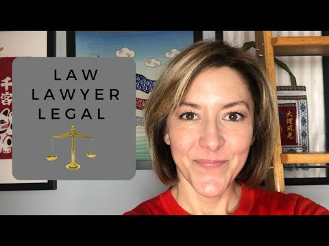 How to Pronounce LOW, LAW,  LEGAL, LAWYER - English Pronunciation Lesson