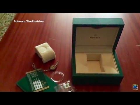 THE NEW ROLEX WATCH BOX 2017