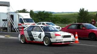 preview picture of video 'Airfieldrace Krems-Gneixendorf 2009 - Audi S2'