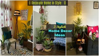 3 Stylish Ways To Decorate Corners | Corner Decoration Ideas | DIY Home Decor | Organizopedia