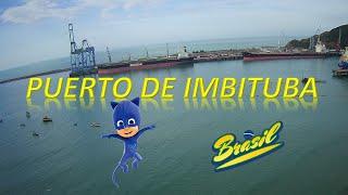 PLAYA DEL PUERTO Y PUERTO DE IMBITUBA - BR. HUBSAN X4 AIR.