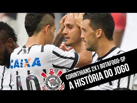 Corinthians 2x1 Botafogo-SP - #Paulistão 2015