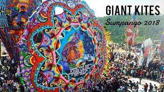 Giant Kites Festival Sumpango • Drone Video