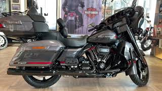 2020 CVO Limited Harley-Davidson 117 Smoky Grey & stormcloud