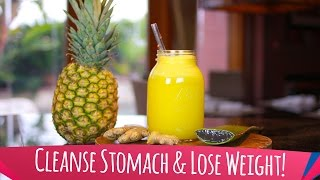 Pineapple Smoothie for Detox and Weight Loss