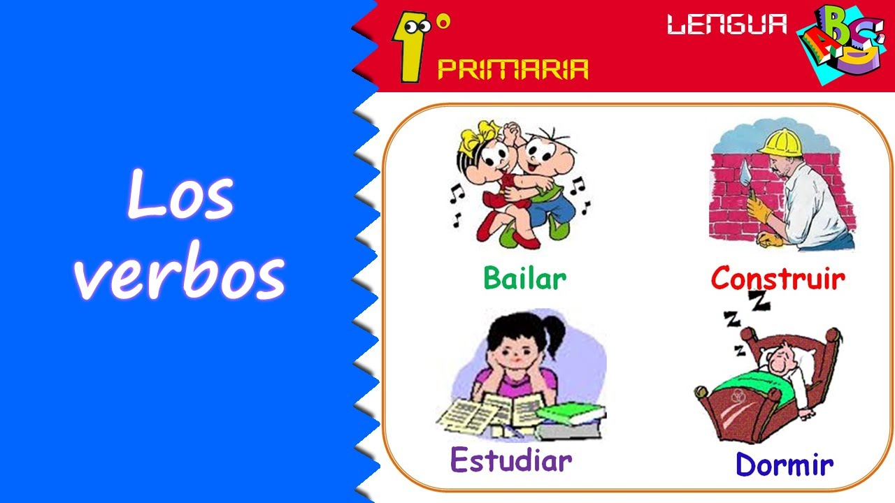 Lengua Castellana. 1º Primaria. Tema 10: El verbo
