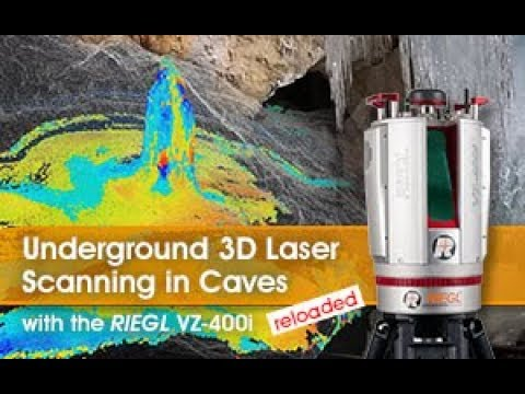 RIEGL VZ-400i: Underground 3D Laser Scanning in Caves - RELOADED
