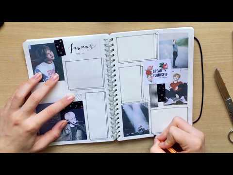 Making A BTS Bullet Journal (while answering your BTS questions)