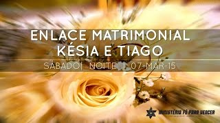 preview picture of video 'Enlace Matrimonial  Késia e Tiago 07.03.2015 | Tabernáculo da Fé - Anápolis-GO'