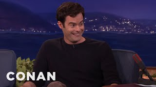 Bill Hader Tells The Tale Of Conan's Celebrity Christmas Inferno  - CONAN on TBS