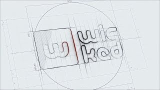 I Will Create This Technical SKETCH 3D Logo Reveal
