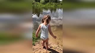 Бородина показала деткам, где в детстве плавала