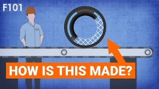 How Is An F1 Tyre Made?
