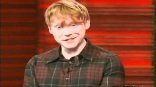 Руперт Гринт, Rupert Grint on 'Regis & Kelly'