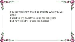 Division of Laura Lee - I Guess I'm Healed Lyrics