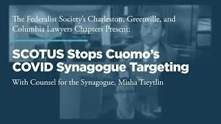 Click to play: SCOTUS Stops Cuomo's COVID Synagogue Targeting