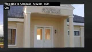 Iloilo Real Estate: Acropolis Iloilo Subdivision  Arevalo  Iloilo City