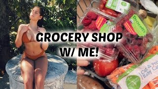 GO GROCERY SHOPPING W/ME! WHAT I EAT