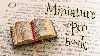 DIY Miniature Tiny Book (step By Step Tutorial)