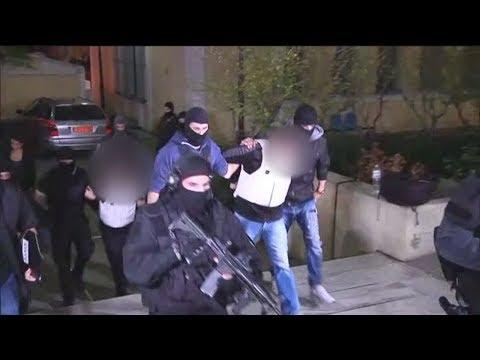 Προθεσμία για να απολογηθούν την Τρίτη έλαβαν οι δύο συλληφθέντες