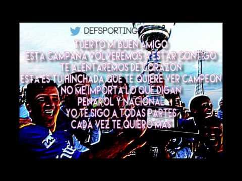 """""""Tuerto, mi buen amigo"""" Barra: La Banda Marley • Club: Defensor"""