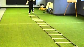 Agility Ladder video