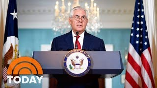 Secretary of State Rex Tillerson: I 'Never Considered Leaving' State Department   TODAY