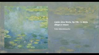Lieder ohne Worte, Op.19b