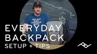 Peak Design Everyday Backpack: Setup + Tips