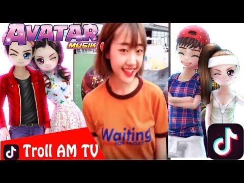 Khi các nhân vật Avatar Musik chơi Tik Tok (P1) ✔ - Troll AM TV (#AM)