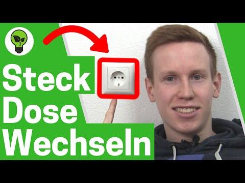 Steckdose Wechseln & Anschließen ✅ TOP ANLEITUNG: Schuko Steckdosen mit Kabel Einbauen & Montieren!!