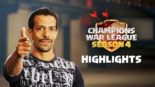 Clash of Clans - Champions War League Season 4 Finals Highlights