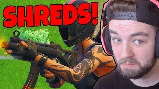 THIS NEW SMG SHREDS (FORTNITE BATTLE ROYALE)