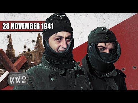 Němci jsou krůček od Moskvy - Druhá světová válka